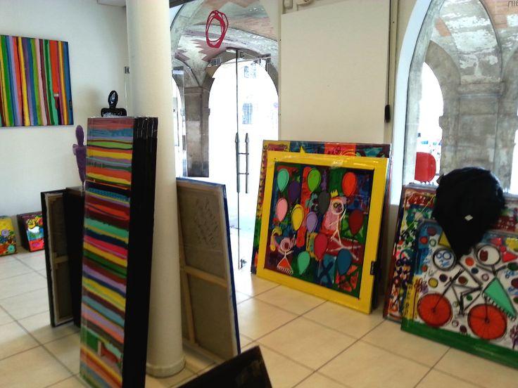 La Colorfield Gallery est sur le départ pour l'Affordable Art Fair de Maastricht !