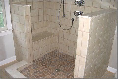 17 Best Images About Doorless Shower Ideas On Pinterest Shower Doors Shower Walls And Walk In