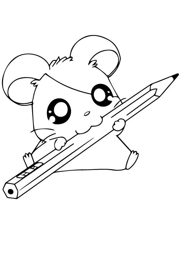 25 Best Hamster Coloring Pages Your Toddler Will Love To Color Cute Drawings Puppy Coloring Pages Animal Coloring Books