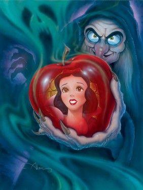 """""""The Fairest in the Land"""" by John Alvin for Disney Fine Art"""