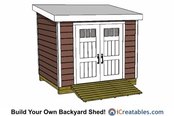 25 best images about 8x10 shed plans on pinterest for 8x10 office design
