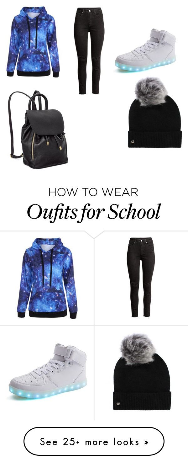"""""""school outfit #1"""" by emmathetiger on Polyvore featuring UGG"""