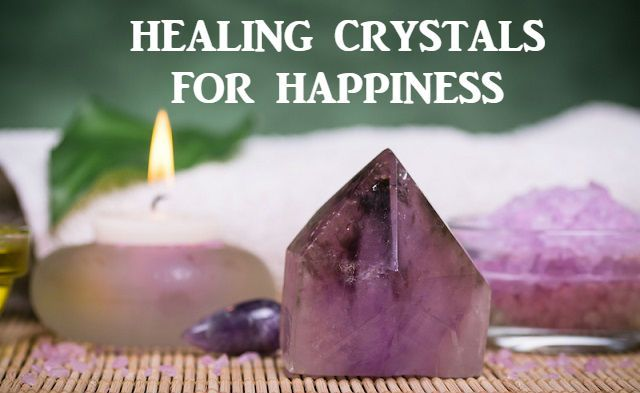 Inspire a positive disposition in your life and live well with these healing crystals for happiness.  #happiness #healing #crystals #crystalhealing