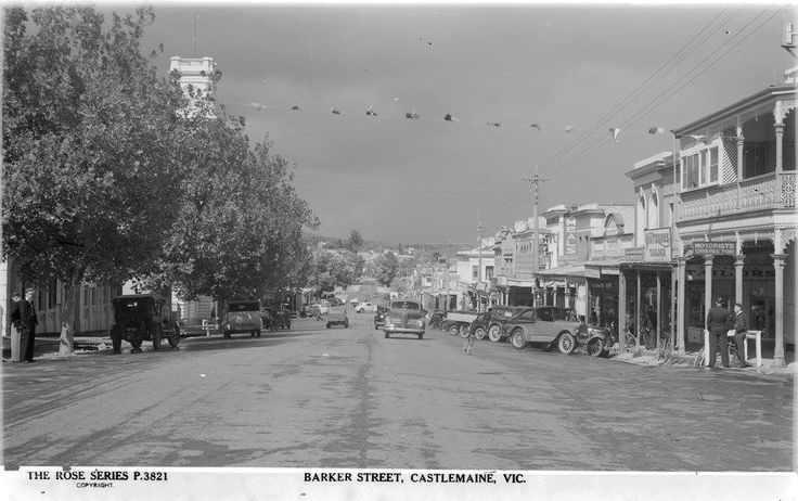 Castlemaine in the 1860s
