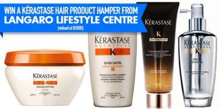 We're giving away a Kérastase hair product hamper, thanks to Langaro Lifestyle Centre (worth R2000).   www.capetownmagazine.com  Enter now: https://apps.agorapulse.com/app/go/56377/60443