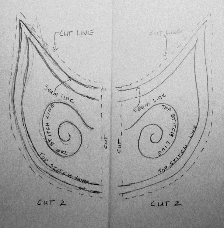 Arte edredones de Linda: Traje de Elf para Adultos - hacer su propio patrón
