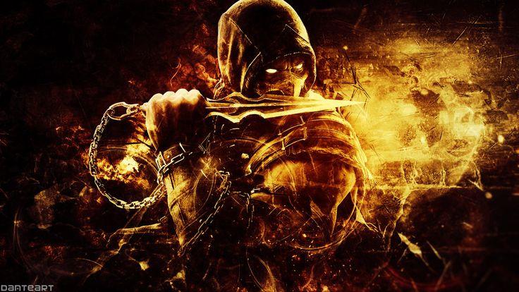 mortal kombat x scorpion wallpaper - Google'da Ara