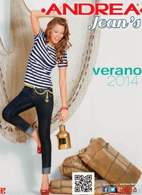 catalogo verano andrea 2014 jeans ropa