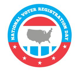 Today is National Voter registration day. Are you registered to vote?  Midterms will soon be here.