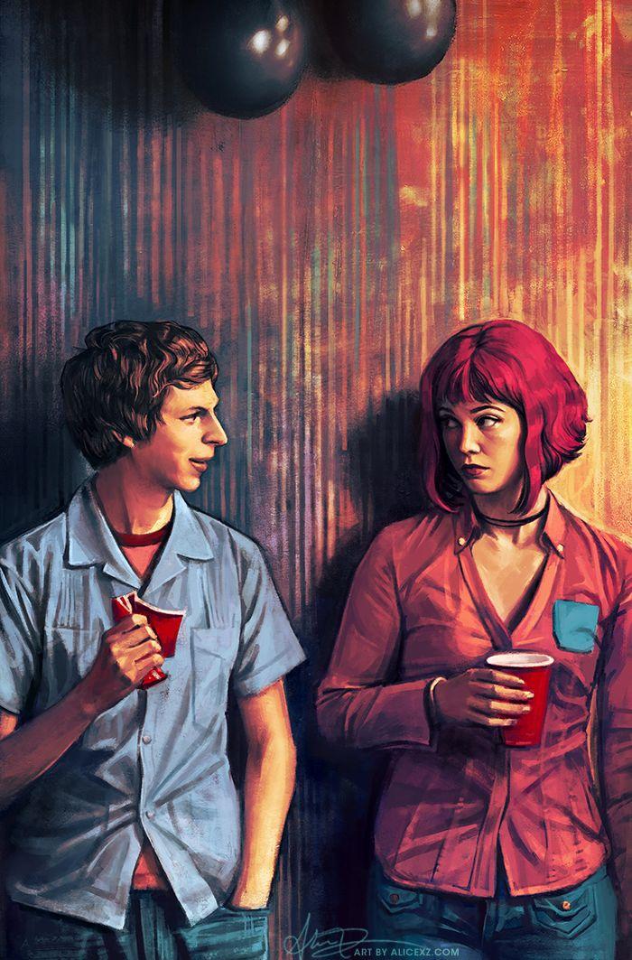 Scott Pilgrim and Ramona Flowers - Alice X. Zhang