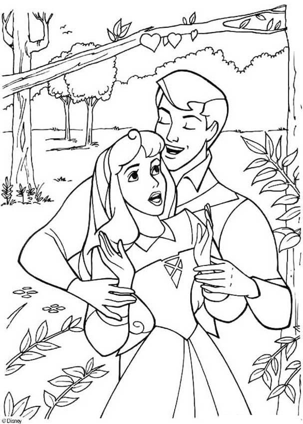 Sleeping Beauty Coloring Page Princess PagesDisney