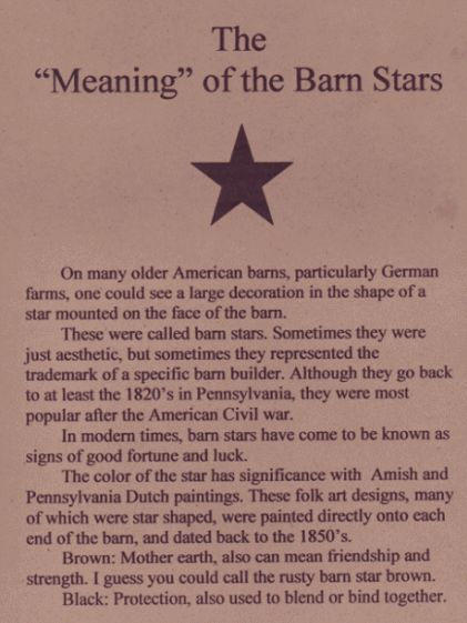 love the primitive country looking barn stars!!!  Cant have too many!!!!