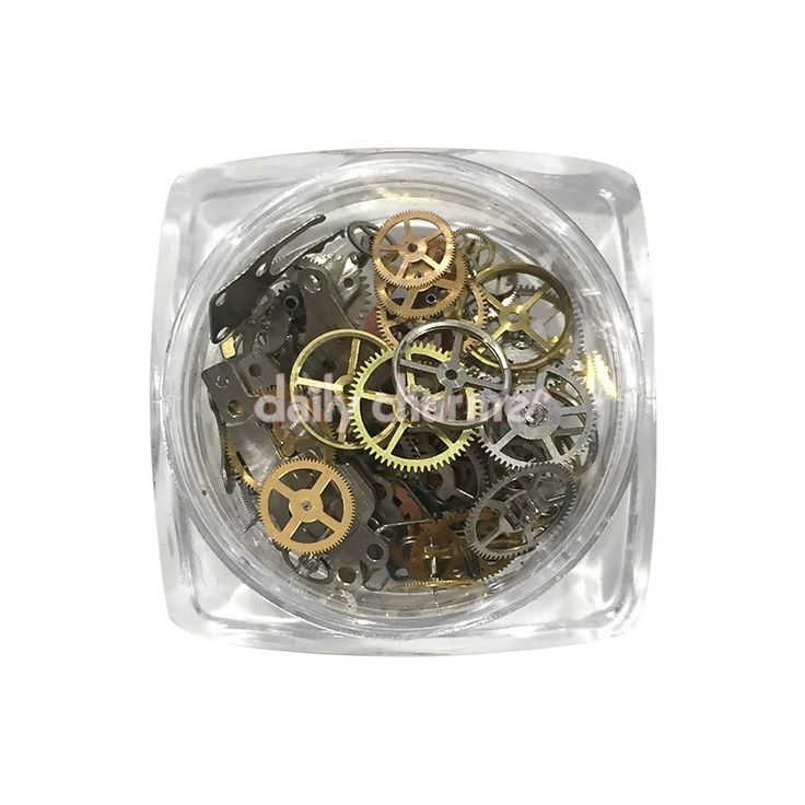 Steampunk Nail Vintage Watch Gears / Assorted
