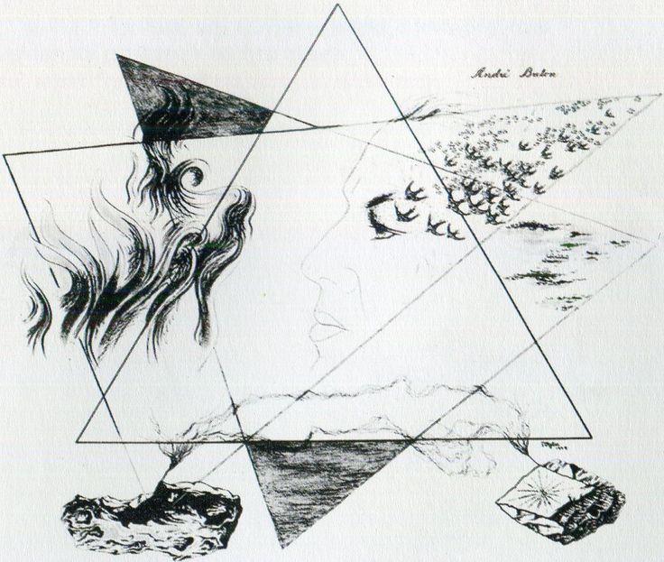 Toyen, serie Ni alas ni piedras. Alas y piedras, 1949