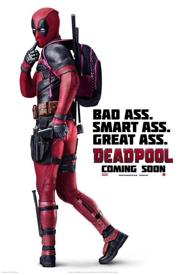 Deadpool Movie: I'm looking forward to this one!