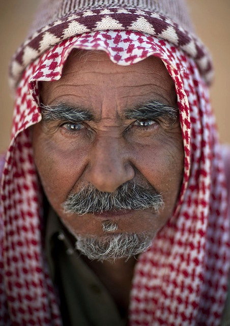 Old man - Saudi Arabia by Eric Lafforgue, via Flickr