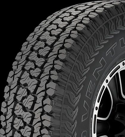 The Road Venture AT51 is Kumho's On-/Off-Road All-Terrain light truck tire developed for the drivers of jeeps, pickup trucks and sport utility vehicles that want off-road performance from a tire also tuned for the road. Designed to combine command of rugged terrain with an all-season...