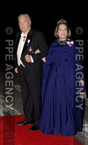 08-10-2016 Gala dinner  Arrival for dinner at the Royal Palace in honor to wedding of HRH Crown Prince Leka II of The Abanians and Miss Elia Zaharia, October 8, 2016, Tirana Albany, © PPE/Nieboer Afmetingen: 2170 x 3544 (pixels) Bestandsgrootte: 741.5 KB © PPE Agency
