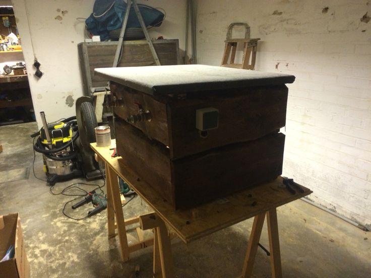 pumpenhaus selbstgestalltete ideen pumps und haus. Black Bedroom Furniture Sets. Home Design Ideas