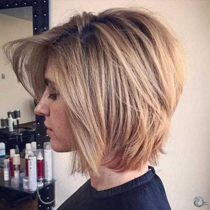 Schulterlanges Haar Blonde Kurzhaarfrisuren Hot Hair