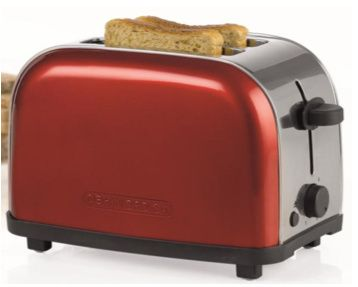 Esimerkki punaisesta leivänpaahtimesta - 39,90€