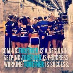 cheerleading inspiration | Cheerleading Quotes and Inspiration on Pinterest | Cheer Quotes, Chee ...