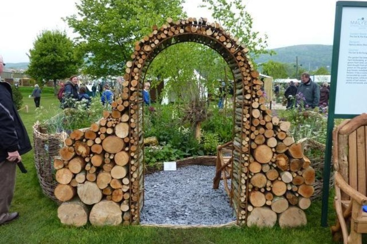 Wooden arch wedding ideas i can 39 t stop pinterest for Timber garden arch designs