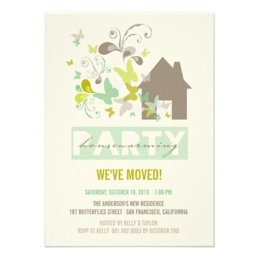29 best Moving Announcement Cards – General Party Invitations