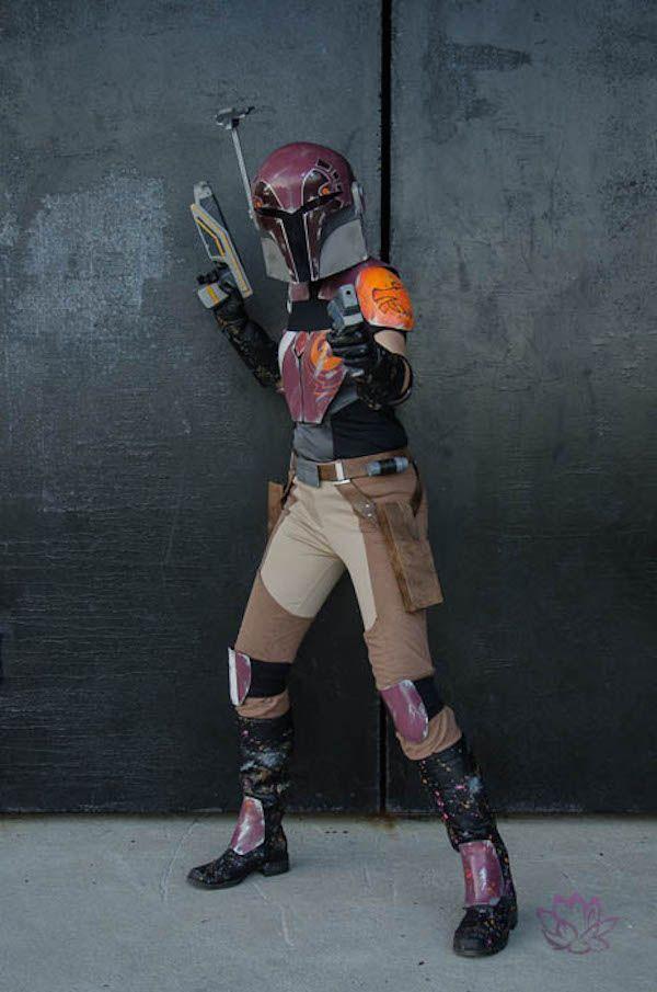This Star Wars Rebels Sabine Cosplay Is Fantastic
