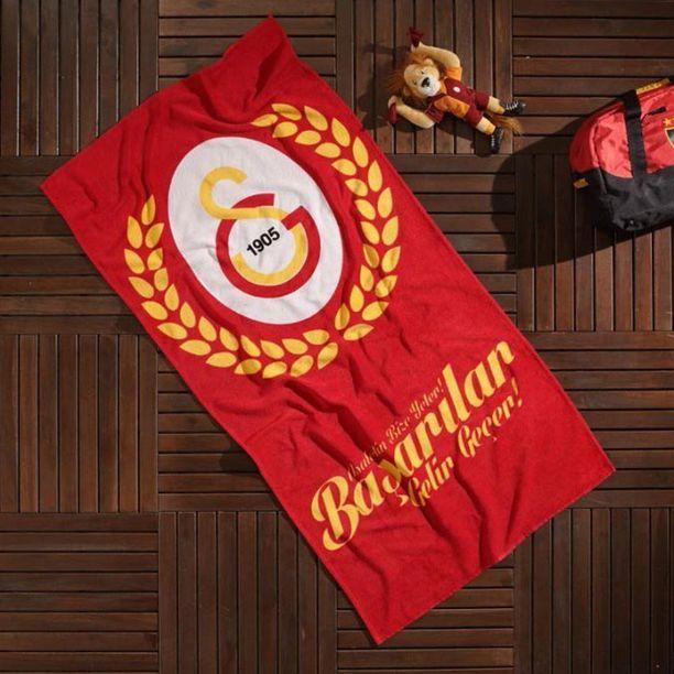 """""""ASALETİN BİZE YETER!"""" Galatasaray Lisanslı Taç 75x150 cm Plaj Havlusu Satışta! http://www.magazagsstore.com/?urun-2207-galatasaray-asaletin-bize-yeter-75-x-150-plaj-havlusu"""