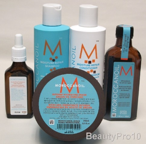 My favorite hair care products!  Moroccan Shampoo, Conditioner and Oil