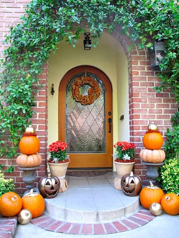7 best moving images on Pinterest - how to make pumpkin decorations for halloween