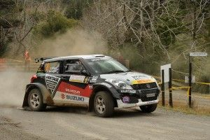 Emma Gilmour Suzuki Swift Maxi 2015 NZRC Coromandel action by Alan Dove LR