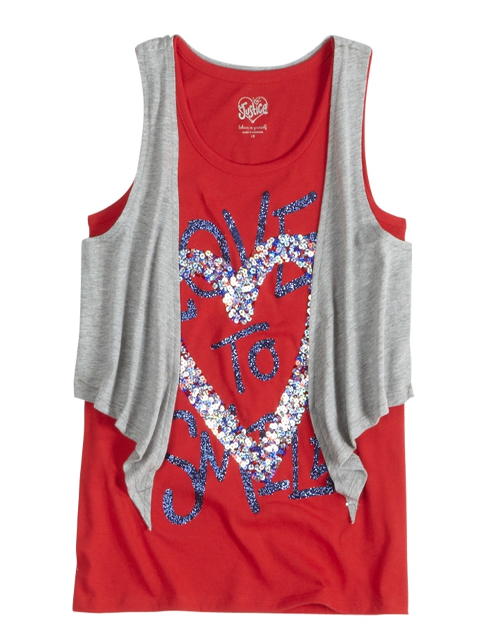 Tank top from justice