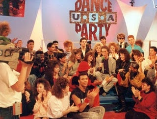 Dance Party USA. My best friend and I would race home from school every day, call each other and watch this show together over the telephone.