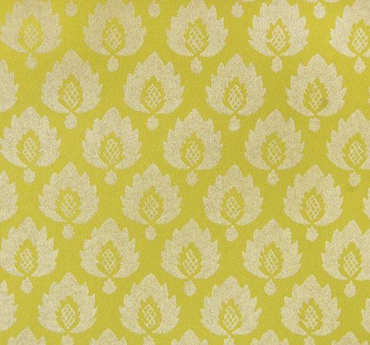 Yellow Trellis Wallpaper: Moroccan, Trellis & Hollywood