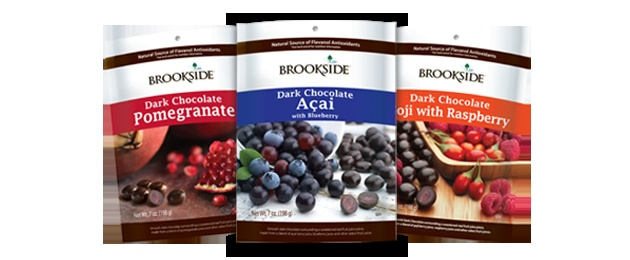 If you see this, try them. The dark chocolate pomegranate was delicious. It's candy for savvy adults.