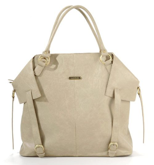 Love the style of this diaper bag, and it's so roomy!