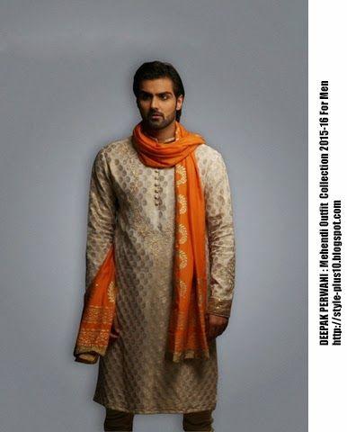 Mehndi Outfit MOF1071 By Deepak Perwani