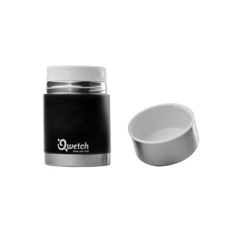 Lunch Box Isotherme 500ml Noir Mat  par Qwetch