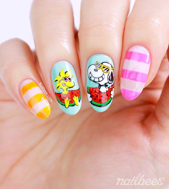 Guest Post: Snoopy Nail Art from Minnie aka Nailbees