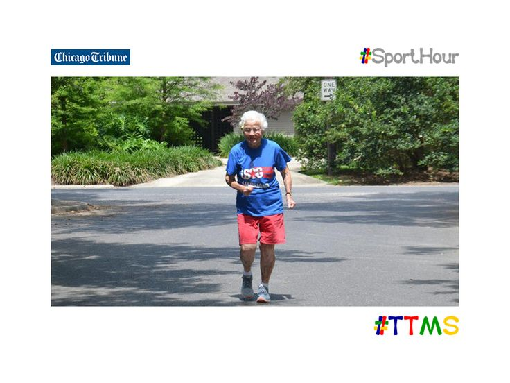 ttms.blog/oGszxe  100 yr old #juliahawkins breaks 100m wolrld record.  #ttms #sporthour #ahtletics #olympics #sprint #trackfield