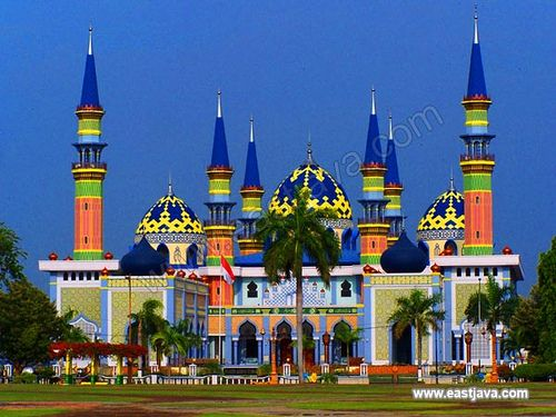 The Great Mosque Of Tuban, East Java.