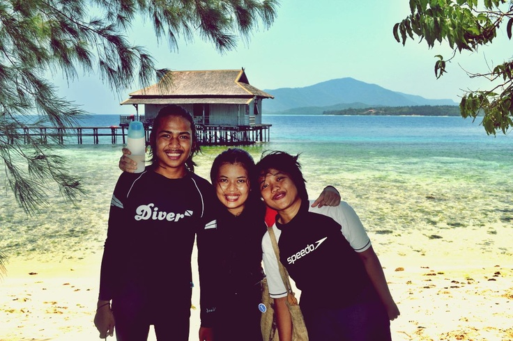 Coastline Karimun Jawa