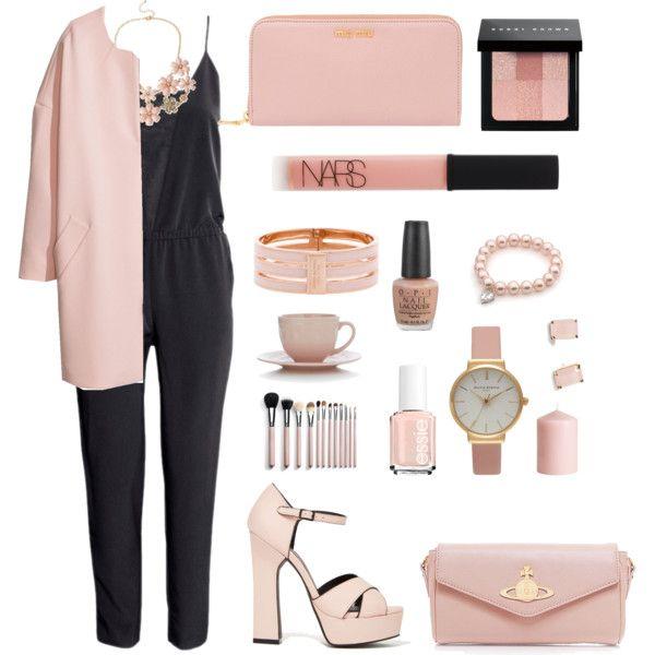 Pastel pink by madelen-reinholdtsen on Polyvore featuring H&M, Miu Miu, Vivienne Westwood, Henri Bendel, Olivia Burton, Haskell, Kate Spade, Bobbi Brown Cosmetics, NARS Cosmetics and OPI