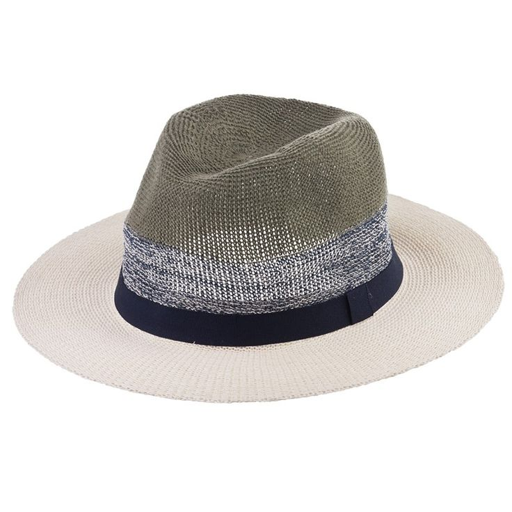 Cathey 3 Colour Knitted Fedora