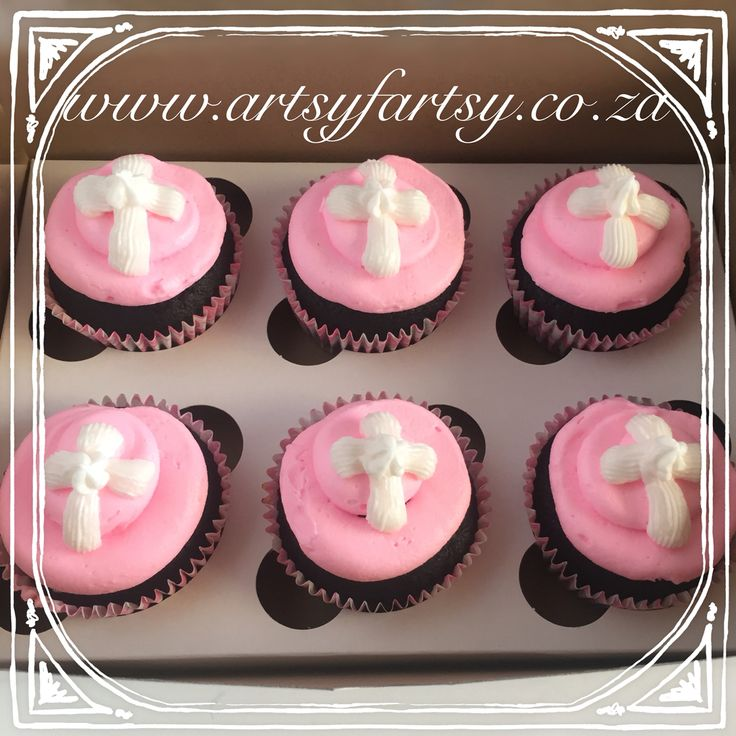 First Communion Cupcakes #firstcommunioncupcakes