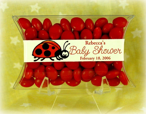 these red candy is perfect for your ladybug baby shower theme they are so cute