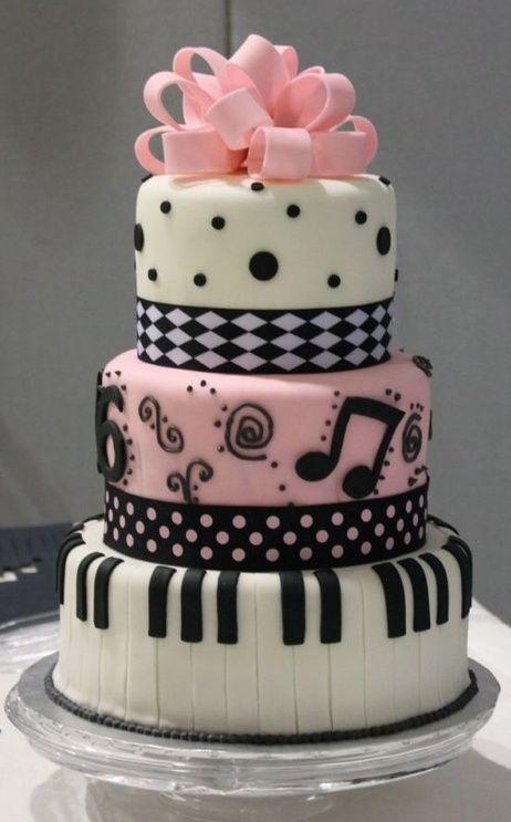 music notes and polka dots