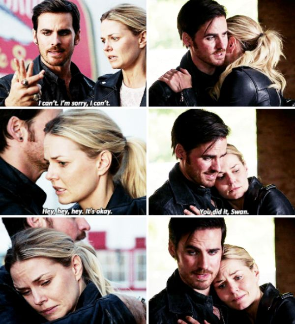 "Emma and Killian - 6 * 3 ""The Other Shoe"" #CaptainSwan"